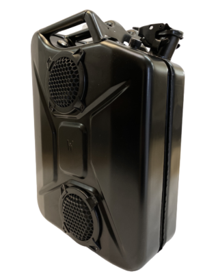 Black Bluetooth Jerrycan Speaker