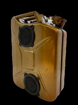 Industrial line Copper- Bluetooth Jerrycan Speaker
