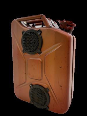 Industrial line Red – Bluetooth Jerrycan Speaker